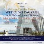 Hotel Novotel Lampung Kembali Tawarkan Wedding Package