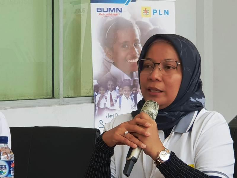 General Manager (GM) PT PLN Distribusi Lampung, Julita Indah. (Foto: Robert)