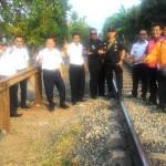 KAI Divisi Regional Divre IV Tanjungkarang Tutup 29 Perlintasan Liar Kereta Api