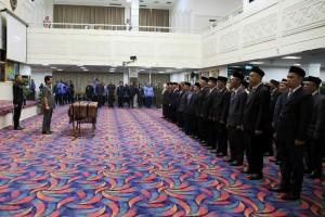 129 Pejabat Fungsional di Lingkungan Pemerintah Provinsi Lampung Dilantik.