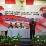 Pada Rakor Bansos Pangan Rastra/BPNT di Bogor, Kadis Sosial Lampung, Sumarju Saeni Sampaikan Testimoni