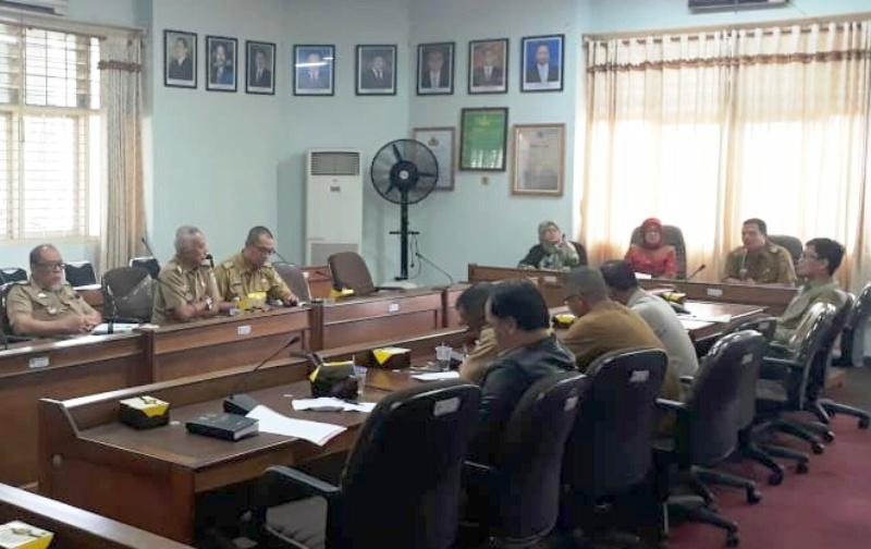 Rapat Tindak Lanjut Progres Program Afoco pada Hutan Kemitraan Cempaka, di Ruang Rapat Utama Dinas Kehutanan Provinsi Lampung, Selasa, 4 September 2018.