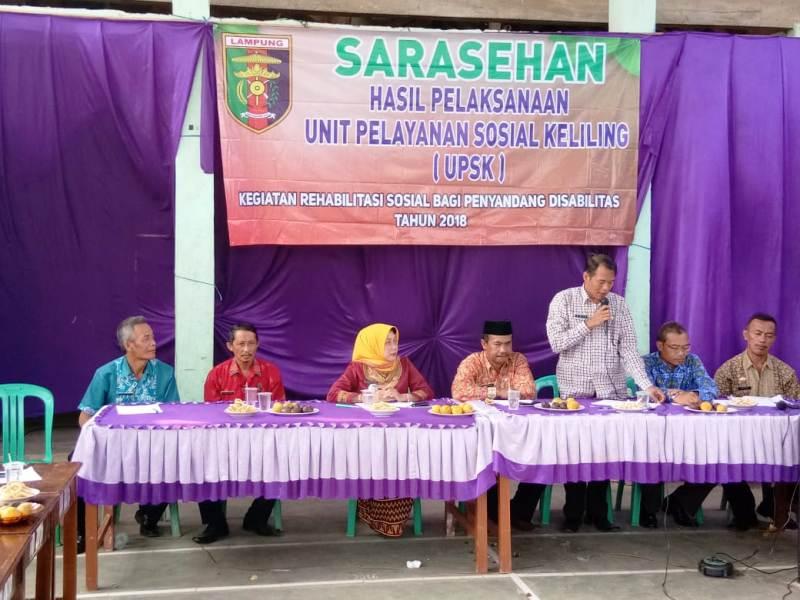 Tim UPSK Gelar Sarasehan Sosial di Kabupaten Pringsewu, Ini Hasilnya.