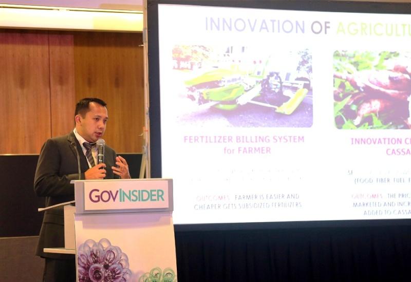 Gubernur Lampung Muhammad Ridho Ficardo kembali tampil di forum internasional di Singapura.