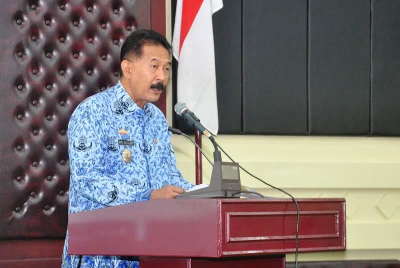 Asisiten Bidang Pemerintahan dan Kesra Hery Suliyanto.