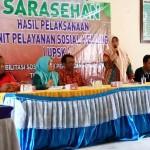 Sarasehan Sosial Temuan Tim UPSK Provinsi Lampung di Waykanan