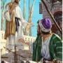 Ilustrasi Yesus dan muridnya. (Credits : FB Thomas Suratno)