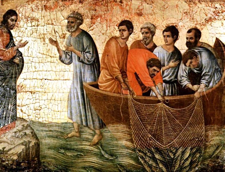 Ilustrasi Yesus mengajar. (Foto : FB Thomas Suratno)