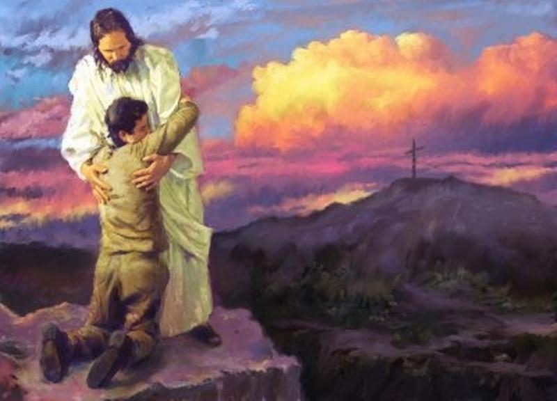Ilustrasi mengampuni. (Foto: artikel.sabda.org)