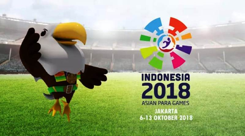Asian Para Games (APG) 2018, 6-13 Oktober 2018.