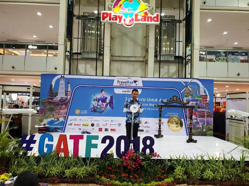 General Manager PT Garuda Indonesia Cabang Tanjungkarang, Gatot Rijadi.