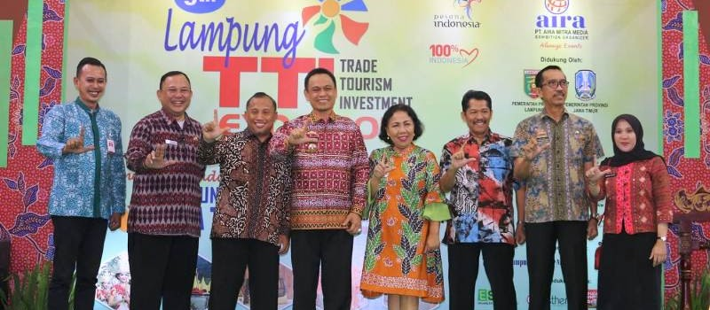Pameran Lampung Trade, Tourism, and Invesment (Lampung TTI Expo) 2018 di Mal Boemi Kedaton