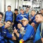 Tim Relawan Tagana Yang Dikirim ke Sulteng, Hari ini Kembali ke Lampung