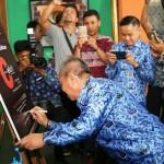 Wagub Bachtiar Buka Pameran Lukisan dari 38 Perupa di Taman Budaya Lampung