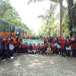 Saat 75 Nenek-Nenek Mengikuti Family Gathering Dinsos Lampung
