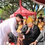 Gubernur Ridho dalam HUT TNI: Sinergitas TNI-Polri Persembahkan Prestasi Membanggakan bagi Pembangunan Lampung