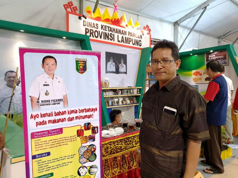 Kabid Keamanan Pangan Dinas Ketahanan Pangan Provinsi Lampung, Oktovia Hafid.