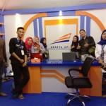 KAI Berikan Diskon 10% Pada Masyarakat Yang Beli Tiket di Stand Lampung Fair
