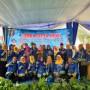 Ketua Penggerak PPK Provinsi Lampung Aprilani Yustin Ficardo bersama panitia lomba Cipta Menu 2018. (Foto: Robert)