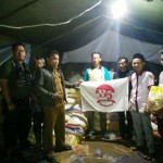Bravo-5 Tanggamus Salurkan Bantuan Korban Bencana Banjir Kelumbayan