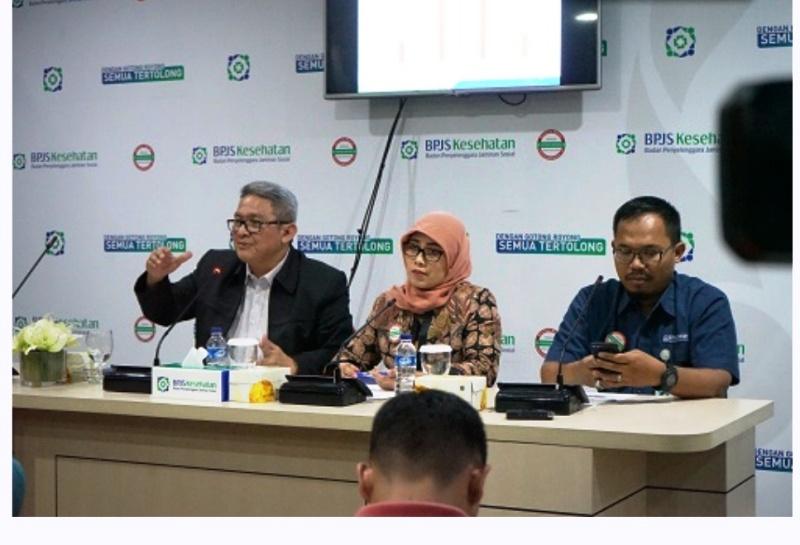 Deputi Direksi Bidang Jaminan Pembiayaan Kesehatan Rujukan BPJS Kesehatan, Budi Mohamad Arief.