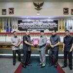 Gubernur Ridho Serahkan Rancangan KUA dan PPAS RAPBD 2019 ke DPRD Provinsi Lampung