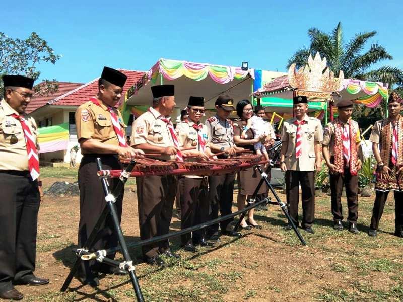Kwarcab Lampung Utara Gelar Kemah Budaya.