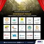 PLN Lampung Sabet Peringkat Perak SNI Award 2018