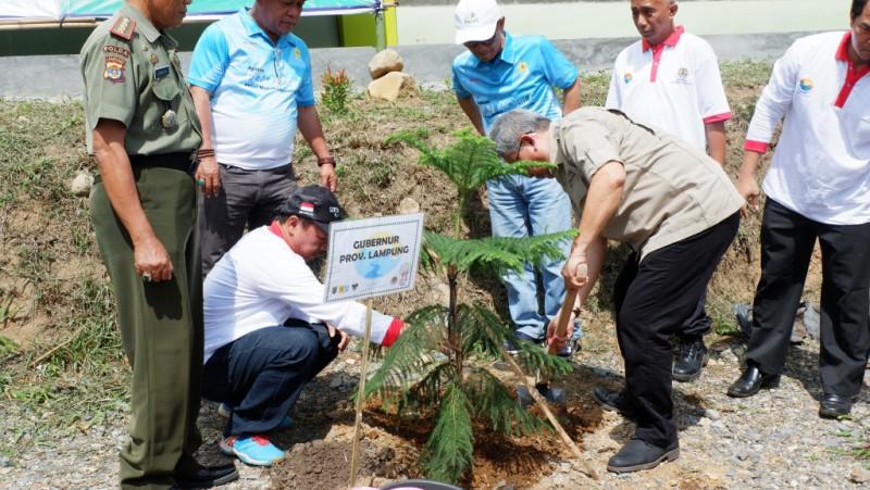PLN Tanam 22.000 Pohon di Hari Menanam Pohon Indonesia 2018.