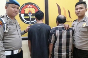 Pemilik dan Pengangkut Sisik Hewan Dilindungi Diamankan Petugas Gabungan, Polisi Buru Penampungnya.