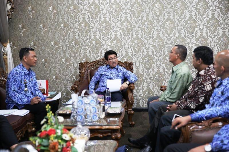Pemprov Lampung Dorong Pengadaan Barang dan Jasa Manfaatkan Teknologi Informasi.