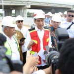 Percepat Pembangunan, Jokowi-Ridho Tinjau Jalan Tol Ruas Bakauheni – Terbanggi