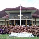 Ketua Kwarda Lepas Pramuka Ikuti Kemnas IV Pramuka Sekolah Islam Terpadu