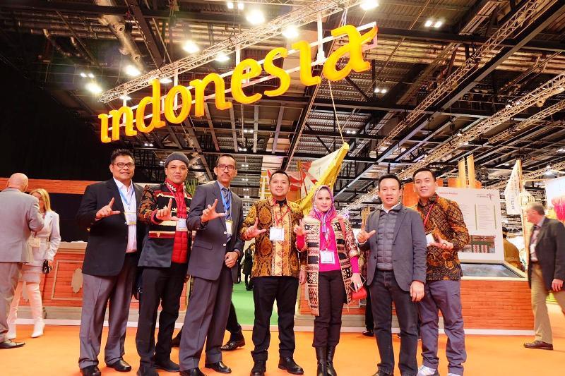 Provinsi Lampung tampil di pameran akbar bidang pariwisata, World Travel Market (WTM) di London, Inggris, 5-7 November 2018.