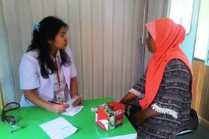 Rail Clinic PT KAI Divre IV Tanjungkarang di Stasiun Negeri Agung, Rabu (24/10).