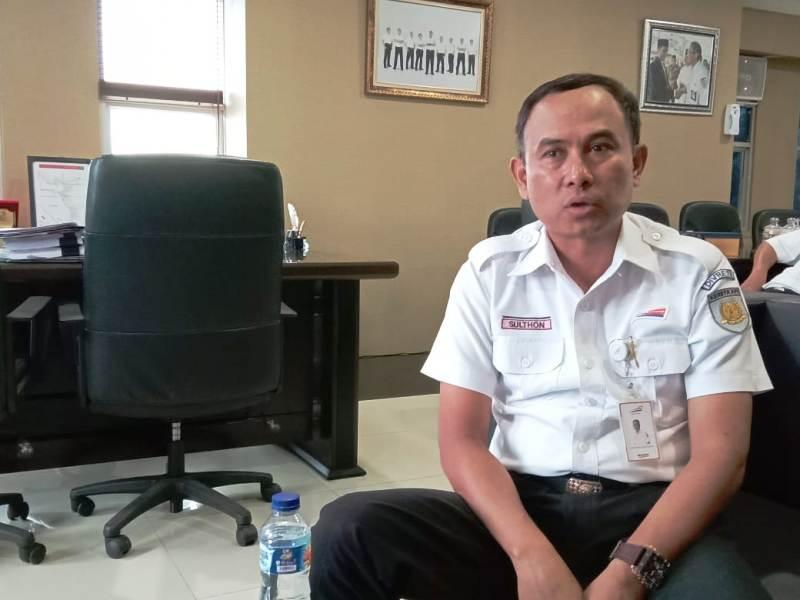 EVP PT KAI Divisi Regional (Divre) IV Tanjungkarang Sulthon Hasanudin.