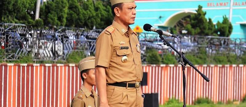 Plt. Asisten Bidang Pemerintahan dan Kesra Provinsi Lampung, Taufik Hidayat.