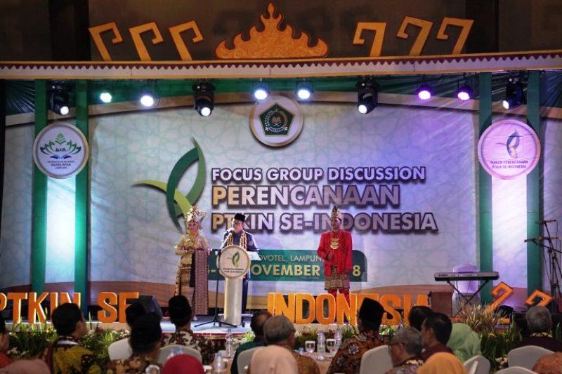 UIN Raden Intan Lampung Gelar FGD Forum Perencanaan Perguruan Tinggi Keagamaan Islam Negeri (PTKIN) se-Indonesia