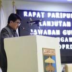 Gubernur Ridho Tegaskan APBD 2019 Berorientasi Pelayanan Dasar kepada Masyarakat