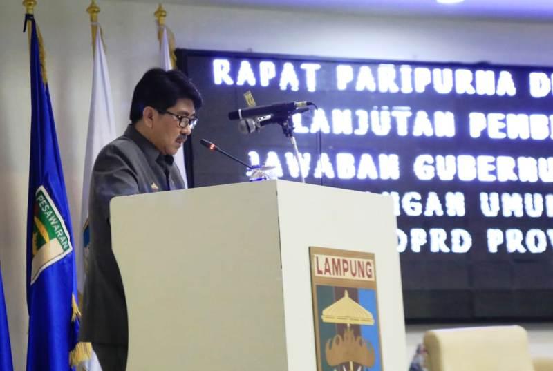 Pj Sekda Provinsi Lampung Hamartoni Ahadis.