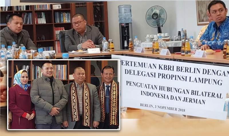 Gubernur Lampung Muhammad Ridho Ficardo melakukan kunjungan kerja ke Kedutaan Besar Republik Indonesia (KBRI) Berlin, Jerman.