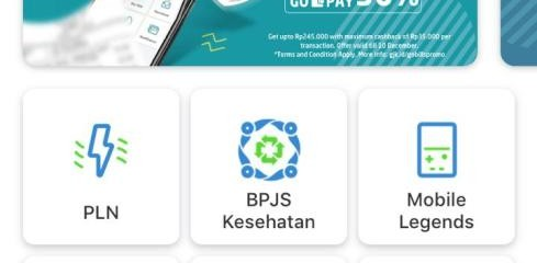Layanan pembayaran gas bumi PGN melalui Go-Bills di aplikasi Go-Jek. Pelanggan PGN dapat melakukan transaksi pembayaran tagihan gas bumi melalui aplikasi ini dengan mudah.