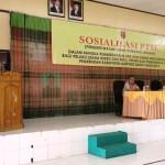 Bupati Lambar Buka Sosialisasi PTSL di Aula RSUD Alimudin Umar
