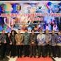 pada Lampung Sustainability Award (LSA) 2018, di Hotel Novotel, Bandar Lampung, Jumat (7/12/2018) malam.