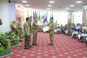 Gubernur Ridho Serahkan DIPA Tahun 2019 Senilai Rp9,972 Triliun kepada Kepala Daerah dan Instansi Vertikal se-Provinsi Lampung.