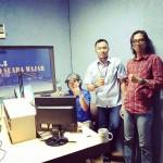Humas PGN Area Lampung dan Sumsel Bertandang ke Radio Suara Wajar Bandar Lampung