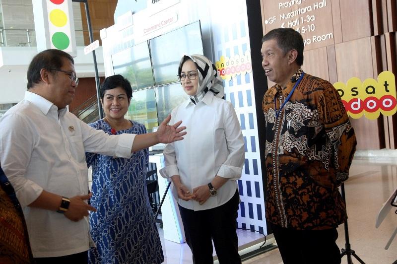 Indosat Ooredoo Mendukung Program Gerakan Menuju 100 Smart city Tahun 2018.