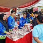 Jelang Natal 2018 dan Tahun Baru 2019, Dinas Ketahanan Pangan Provinsi Lampung Gelar Pasar Murah