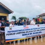 Kanwil BRI Bandar Lampung Salurkan Bantuan untuk Korban Tsunami