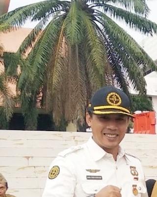 Ketua Purna Paskibraka Wilayah Kota Bandar Lampung, Budi Tomo Purnomo.